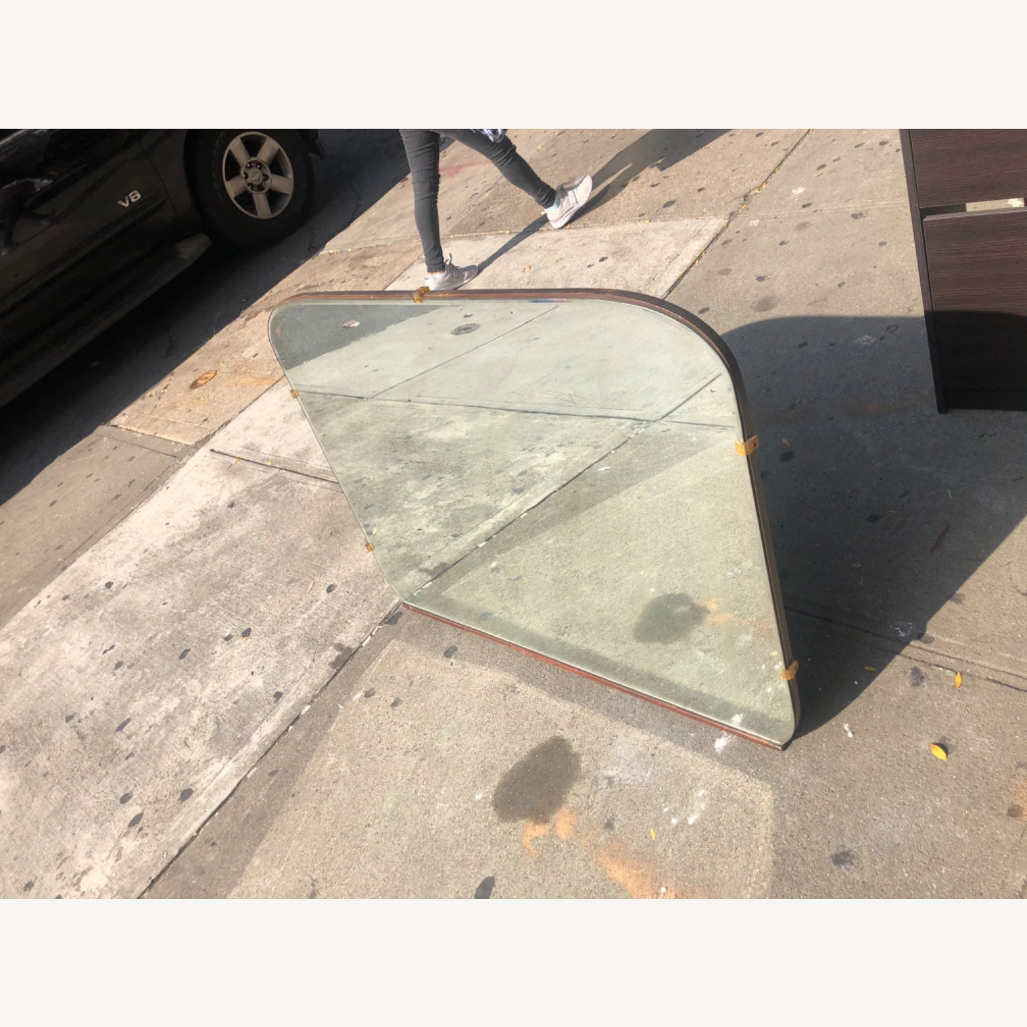 Antique 1930s Wall Mirror - image-3