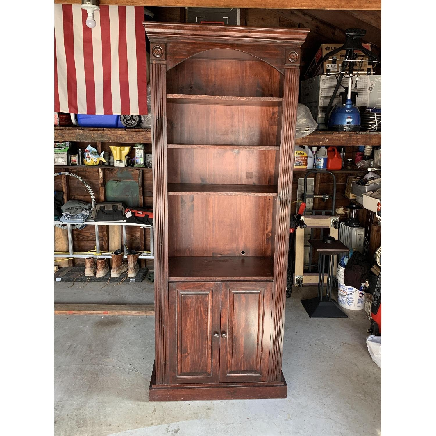 Solid Wood Gothic Cabinet Craft Custom Cabinet - image-3
