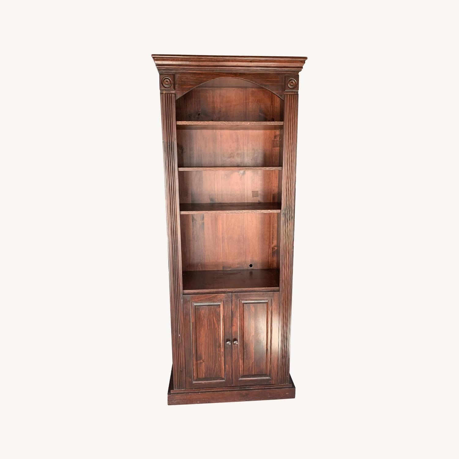 Solid Wood Gothic Cabinet Craft Custom Cabinet - image-0