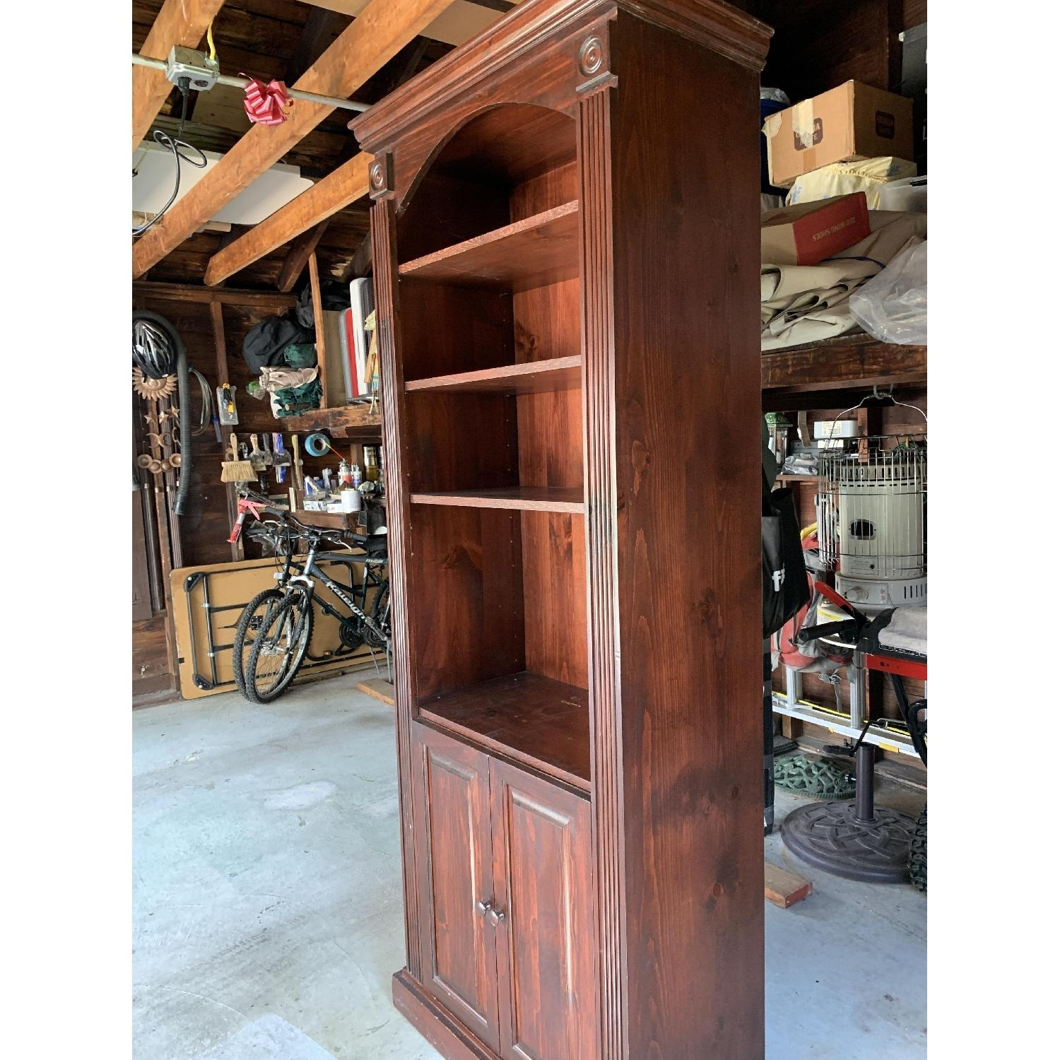 Solid Wood Gothic Cabinet Craft Custom Cabinet - image-1