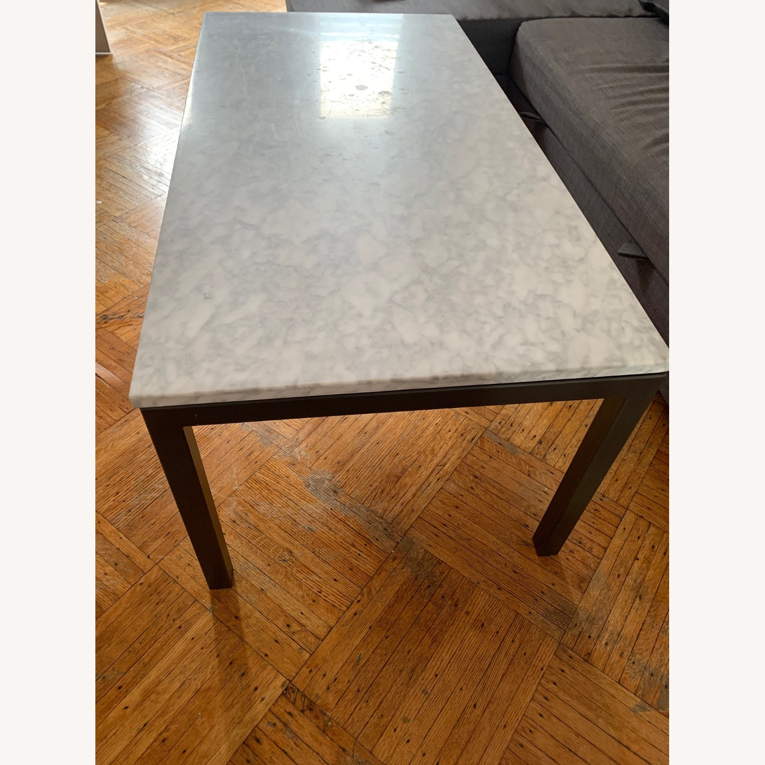 Real Marble Coffee Table - image-4