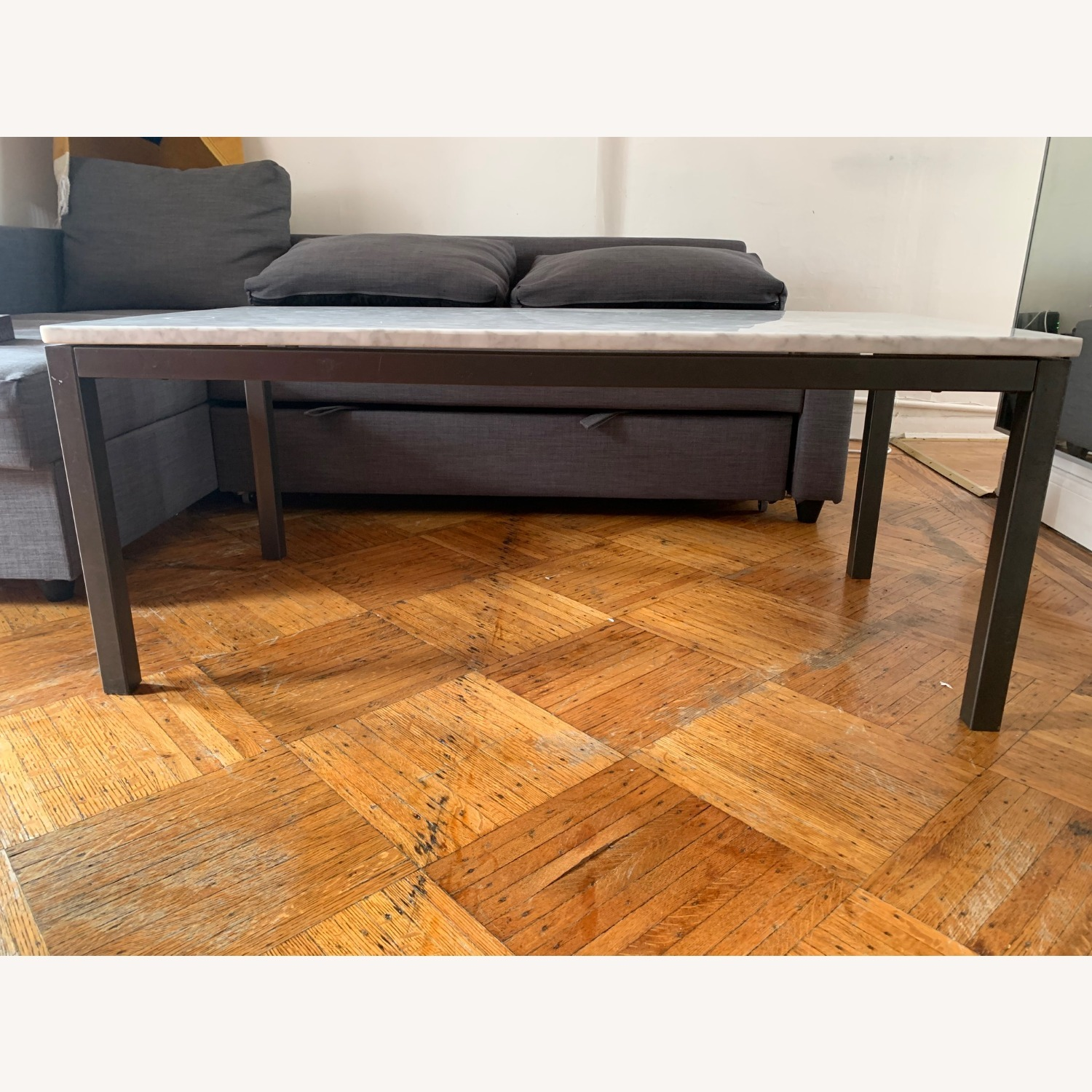 Real Marble Coffee Table - image-3