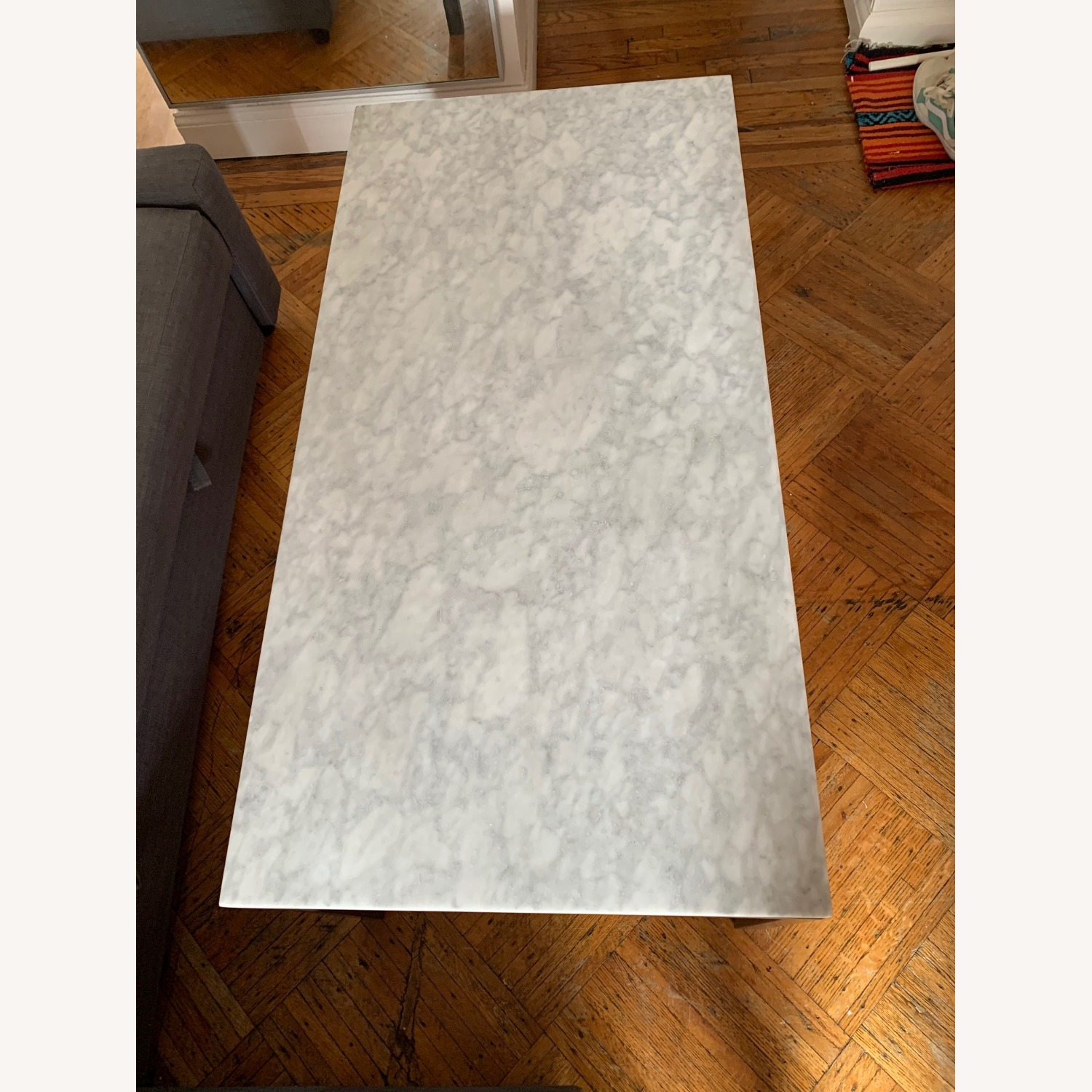 Real Marble Coffee Table - image-2