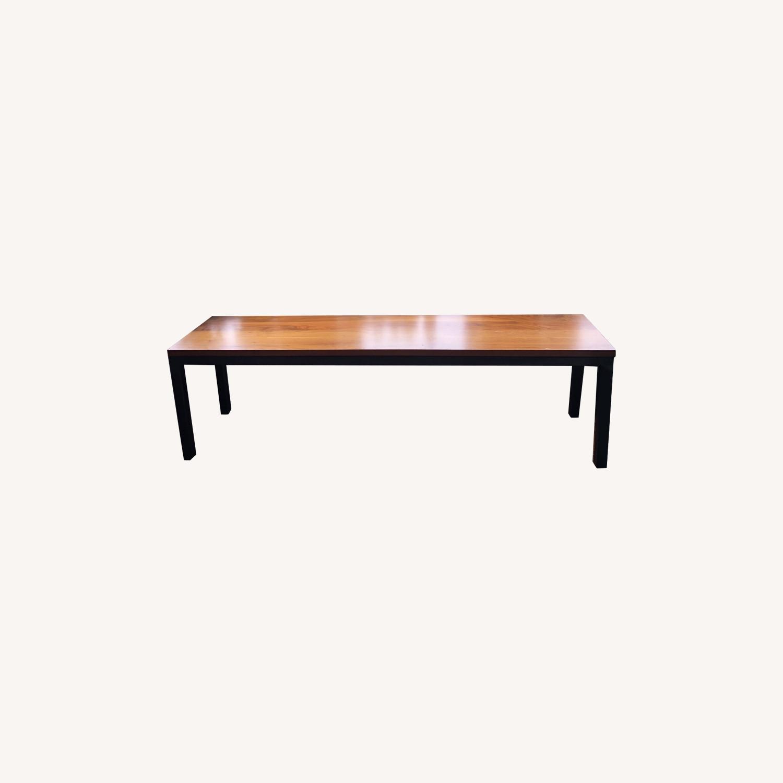 Room & Board Parsons Bench Wood/ Steel - image-0