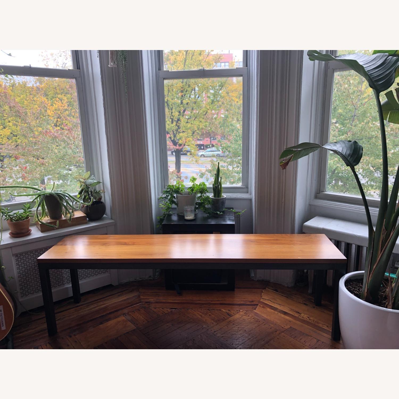 Room & Board Parsons Bench Wood/ Steel - image-1