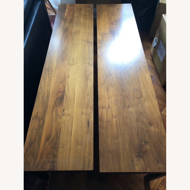 Room & Board Parsons Bench Wood/ Steel - image-3