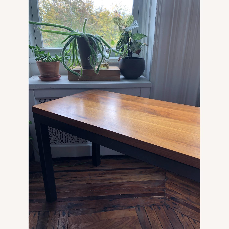 Room & Board Parsons Bench Wood/ Steel - image-2
