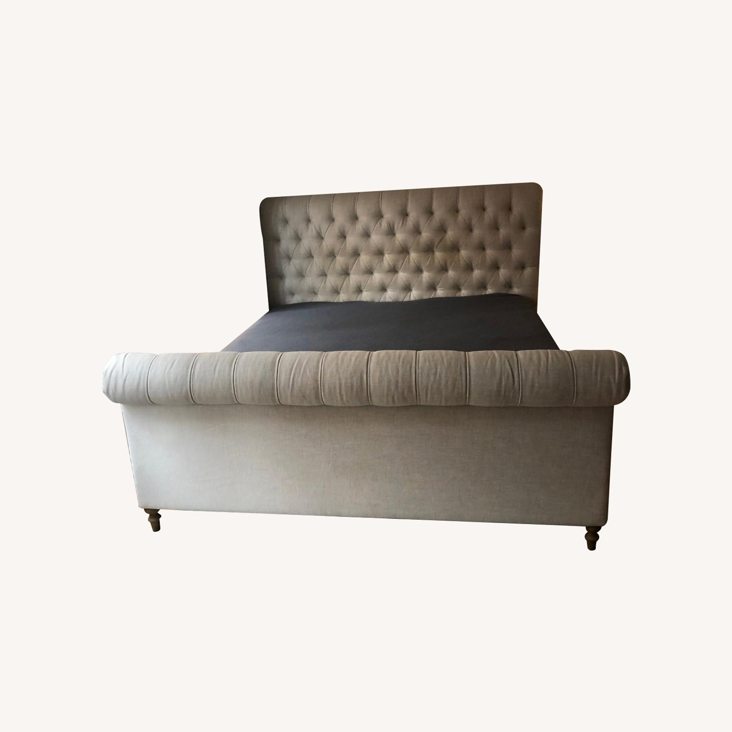 Restoration Hardware Chesterfield with Footboard - image-0