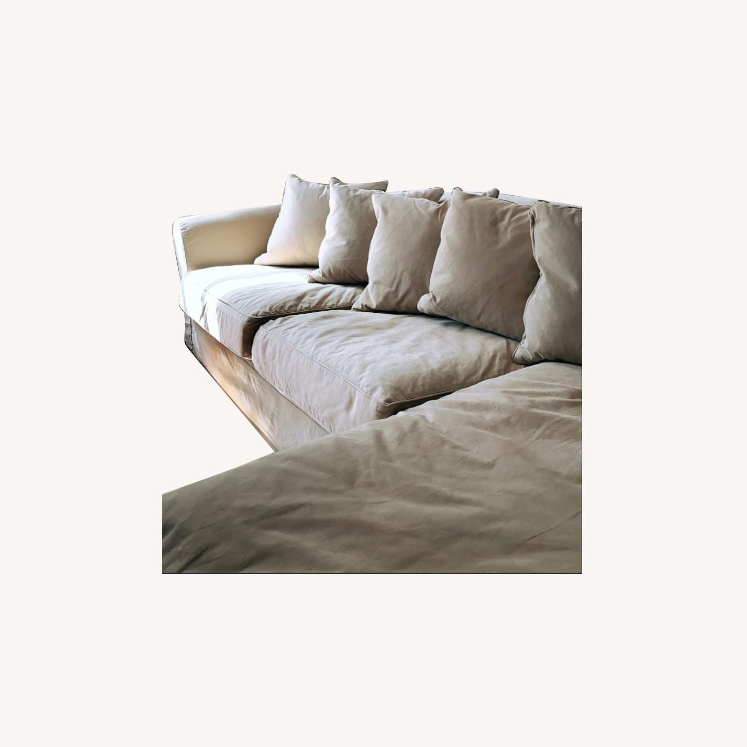 Restoration Hardware Camelback Sectional - image-0