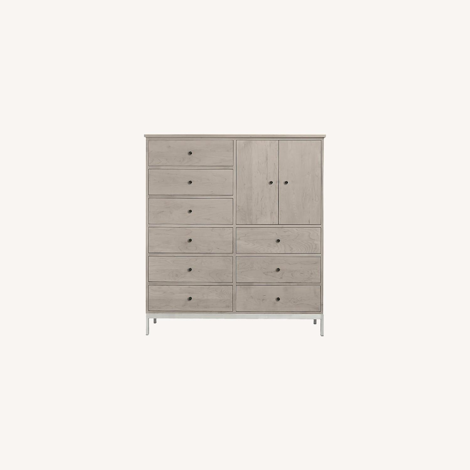 Room & Board Linear Armoire Cabinet - image-0