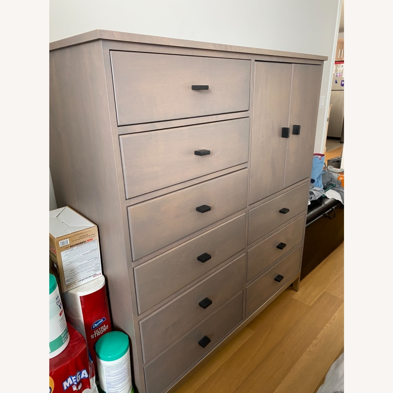 Room & Board Linear Armoire Cabinet - image-2