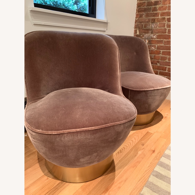 CB2 Mohair Chair - image-1