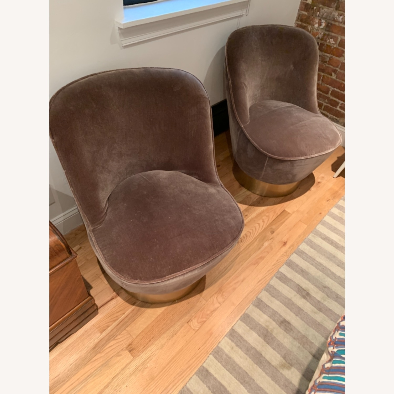 CB2 Mohair Chair - image-3