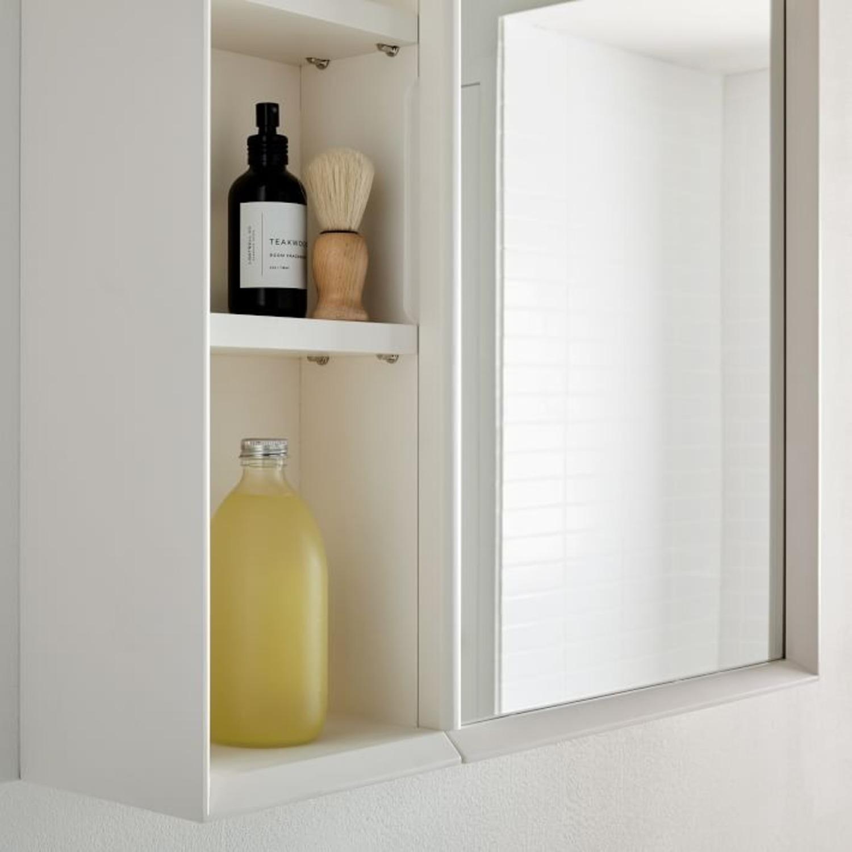 West Elm Mid-Century Open Medicine Cabinet  - image-3