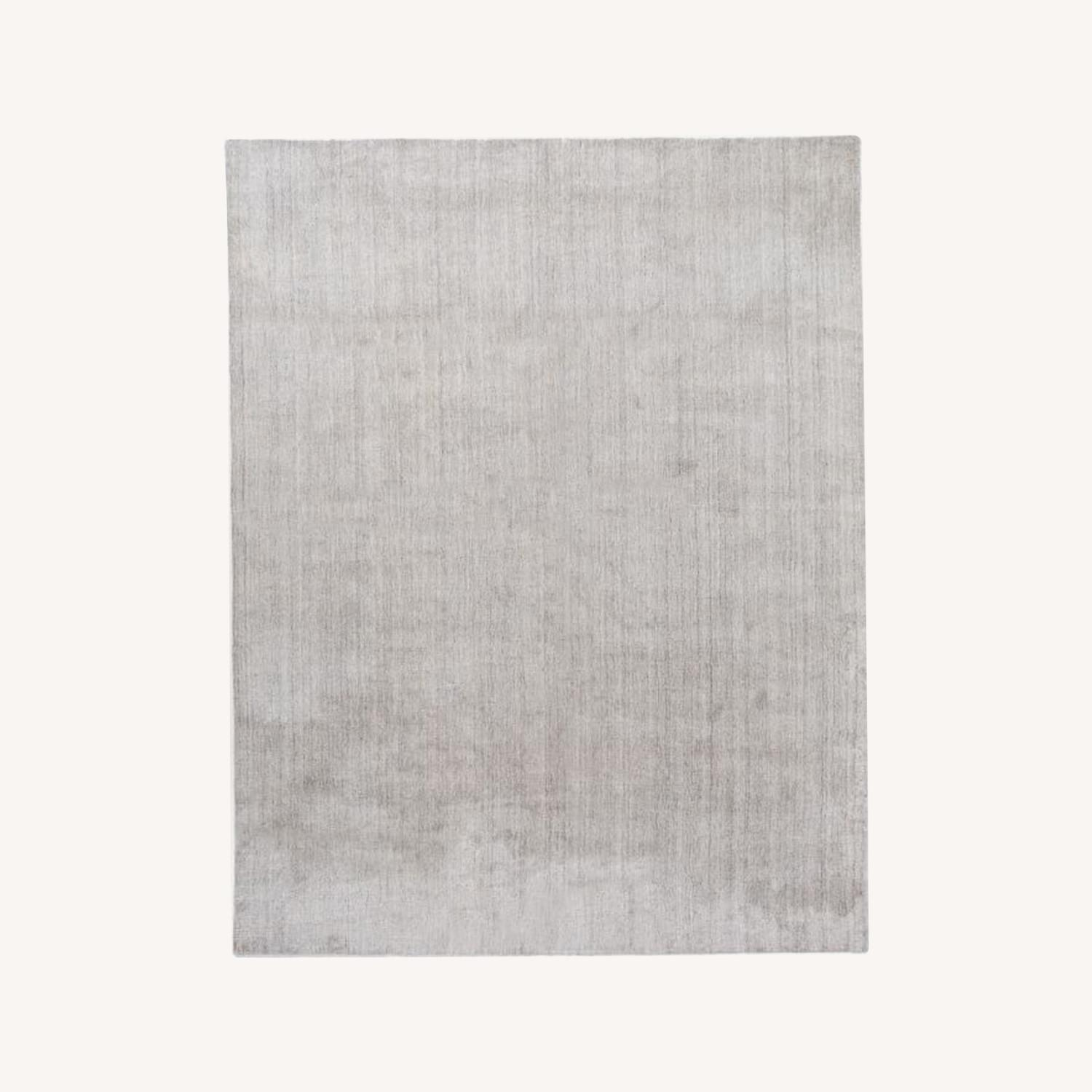 West Elm Handloomed Strie Shine Rug - image-0