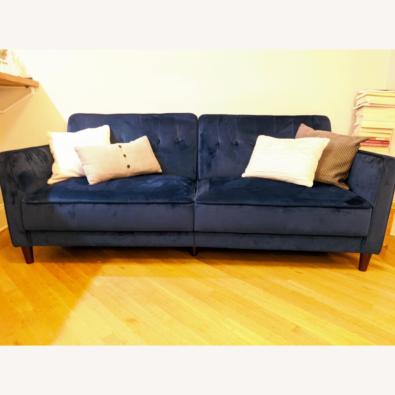Wayfair Nia Velvet Sleeper Sofa - image-0