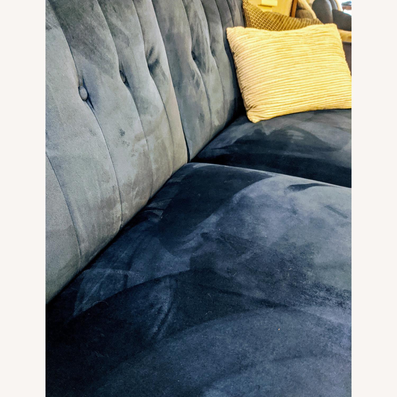 Wayfair Nia Velvet Sleeper Sofa - image-3