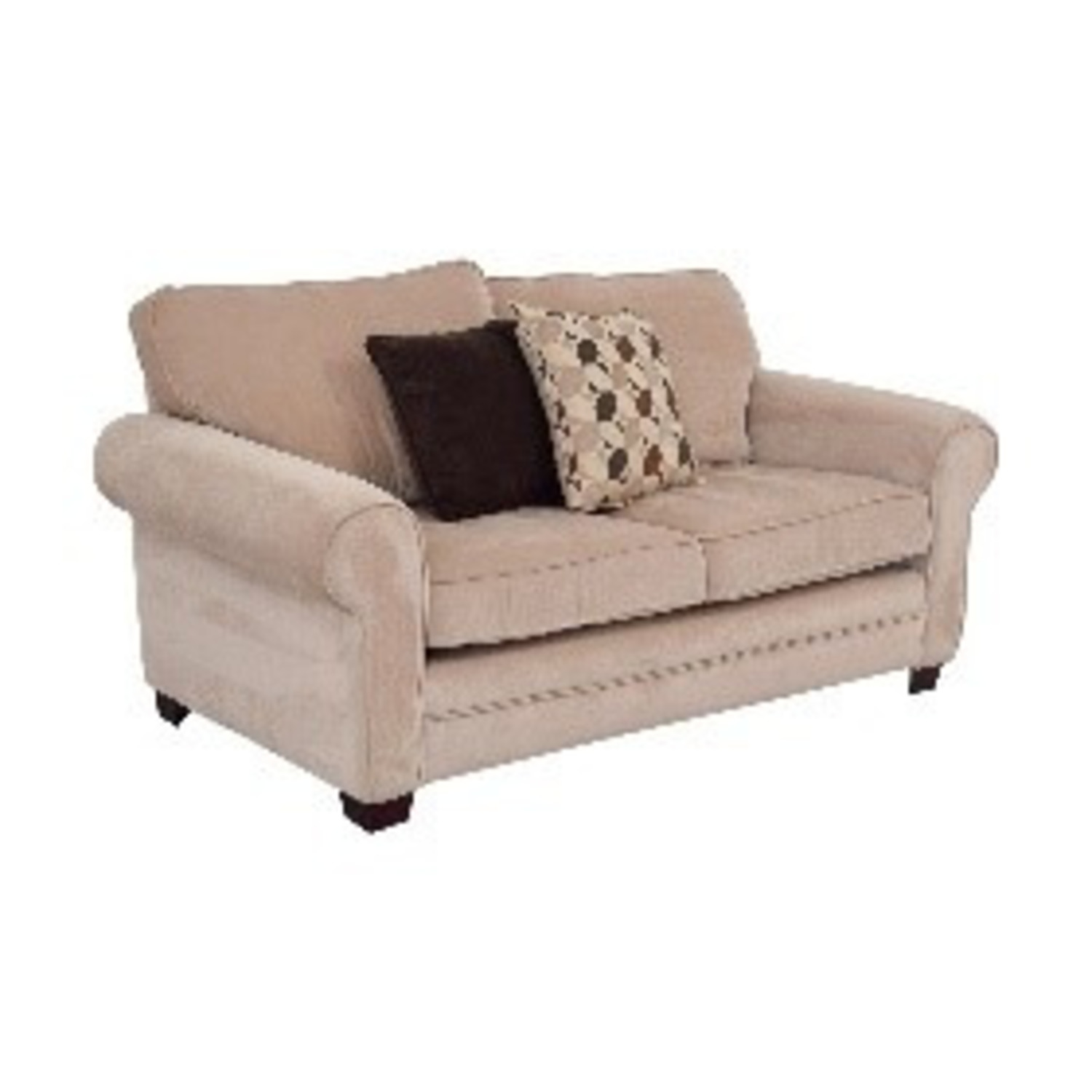 Bobs Maggie 72 roll-arm 2-cushion Loveseat - image-0