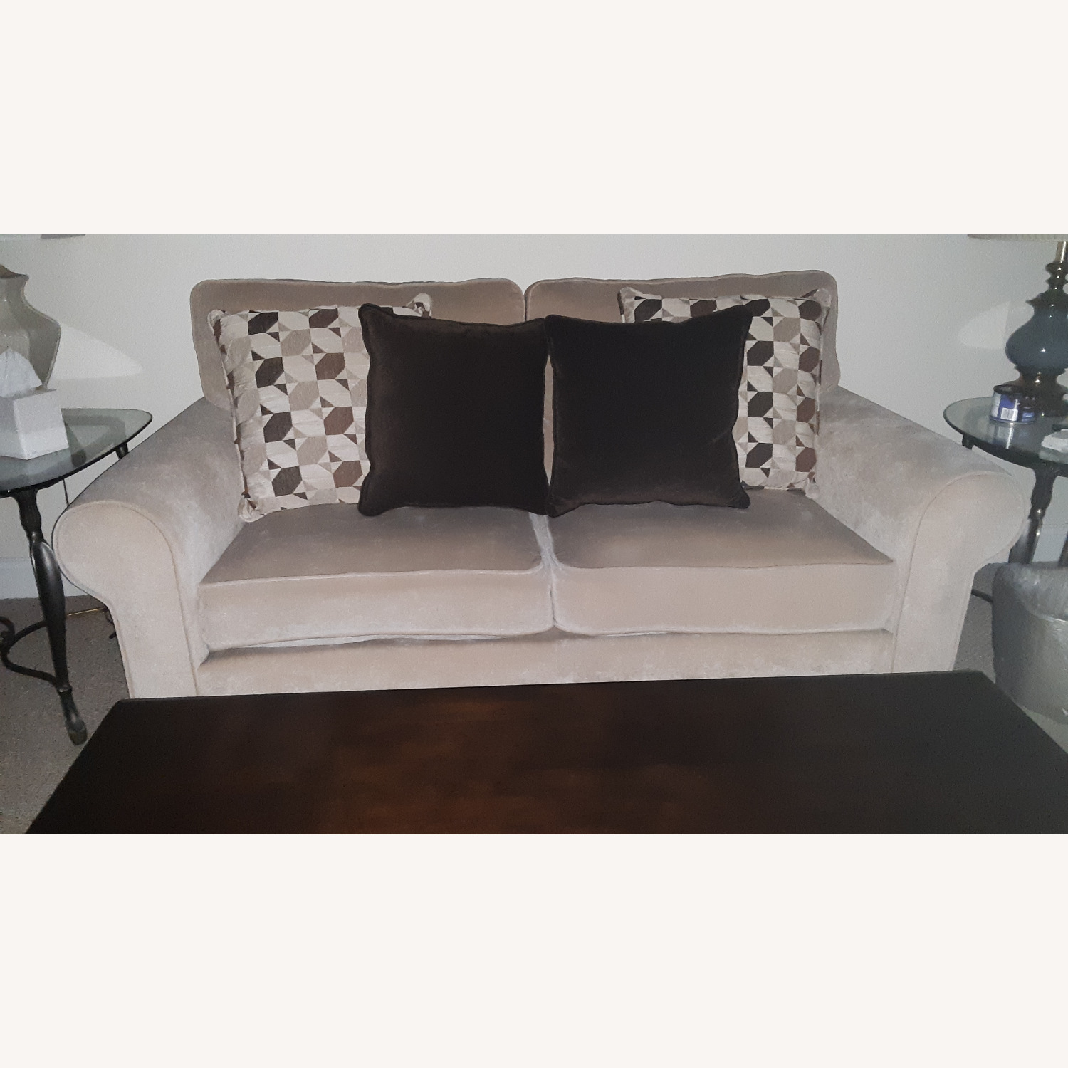 Bobs Maggie 72 roll-arm 2-cushion Loveseat - image-2