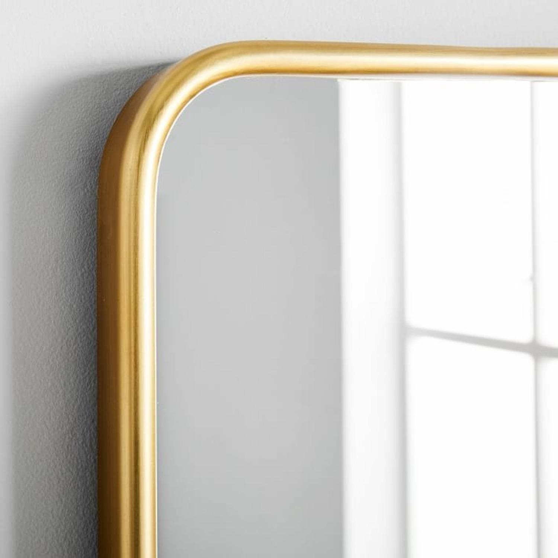 West Elm Modern Streamline Wall Mirror - image-3