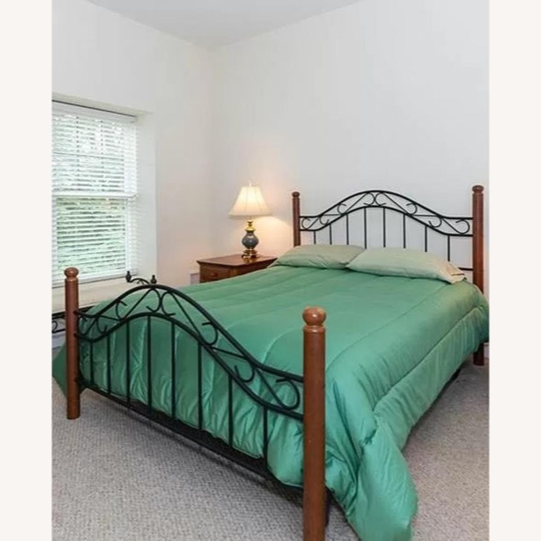 Macy's Open Frame Queen Bed - image-0
