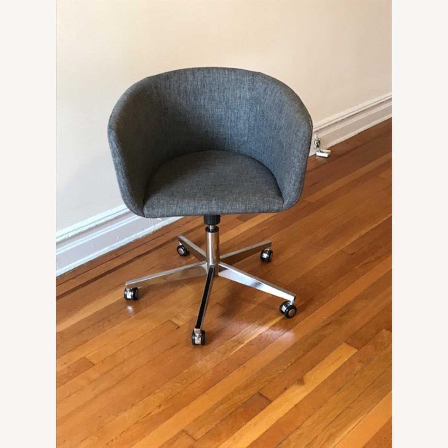 CB2 Grey Office Chair - image-3