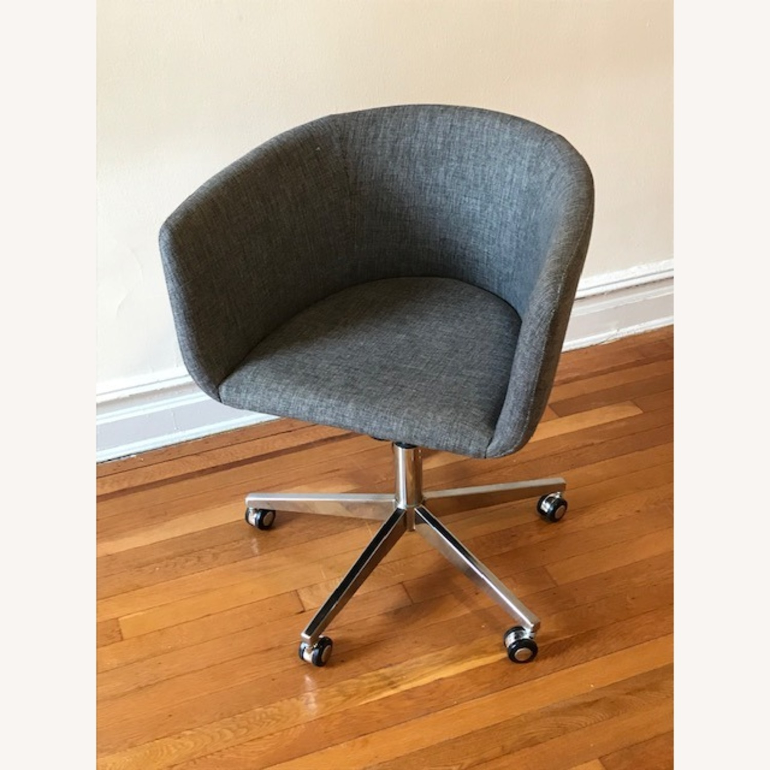 CB2 Grey Office Chair - image-5