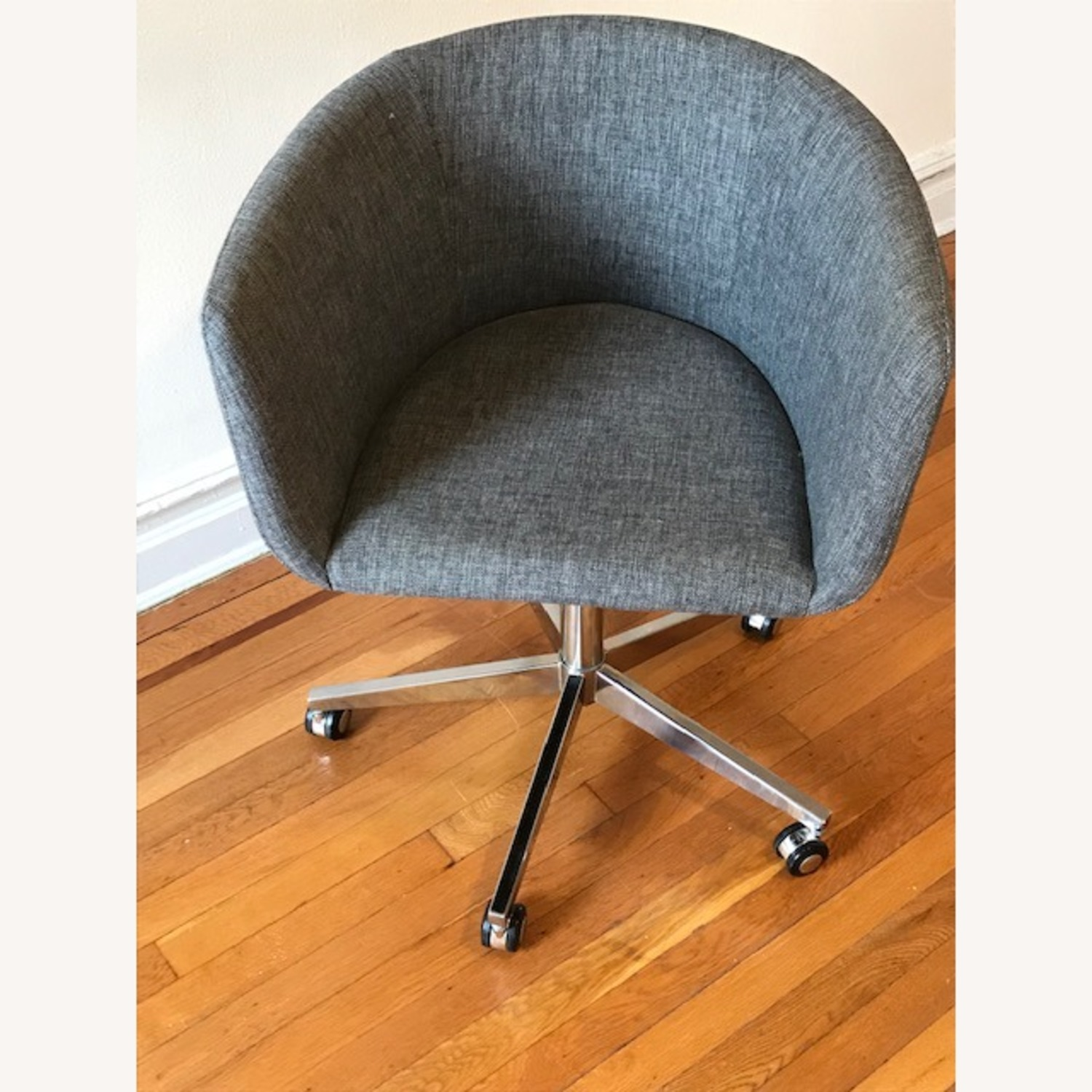 CB2 Grey Office Chair - image-2