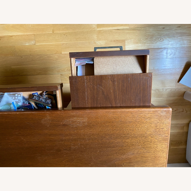 Mid-Century Modern Desk - Walnut - image-4