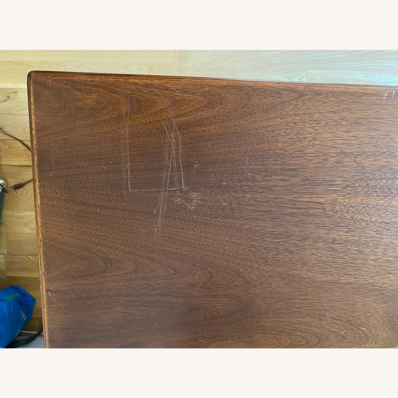 Mid-Century Modern Desk - Walnut - image-3