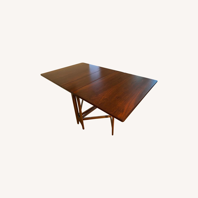 Vintage Danish Gate-leg table - Rosewood - image-0