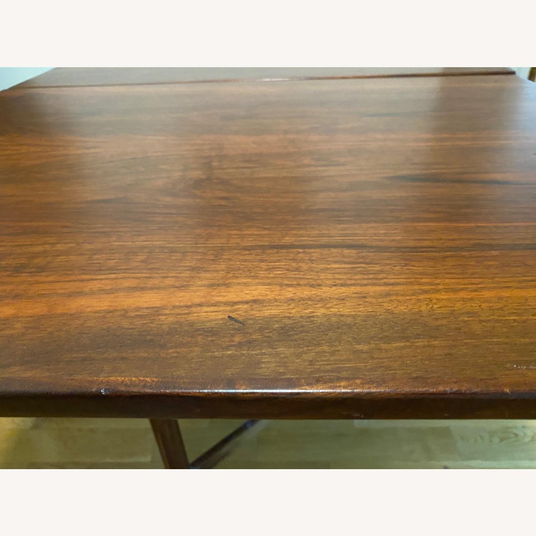 Vintage Danish Gate-leg table - Rosewood - image-4