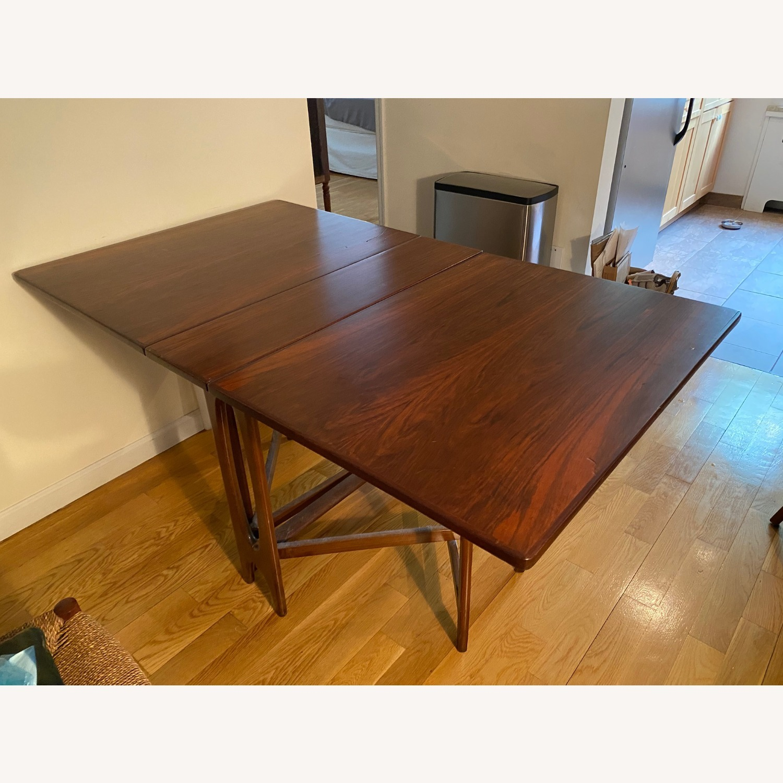 Vintage Danish Gate-leg table - Rosewood - image-1