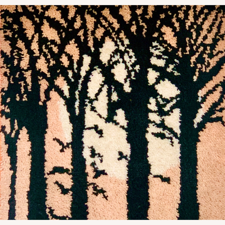 Huge Mid Century Tapestry Art - image-2