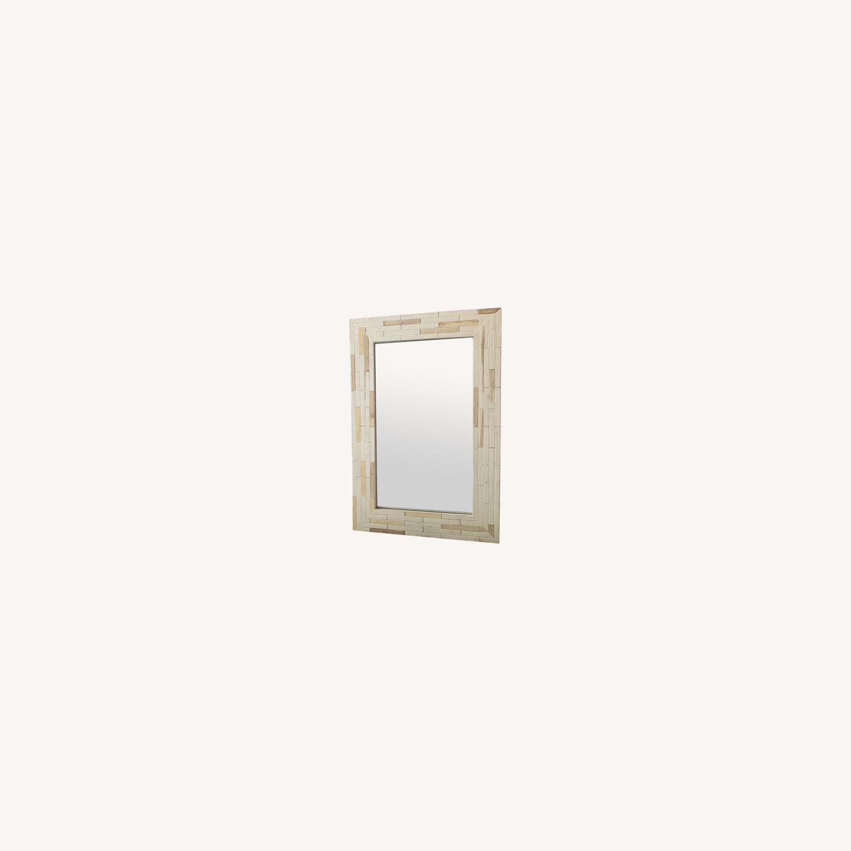 One Kings Lane Wood Mirror - image-0