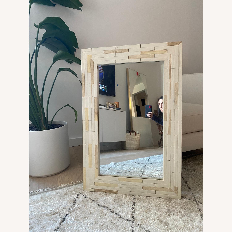 One Kings Lane Wood Mirror - image-1