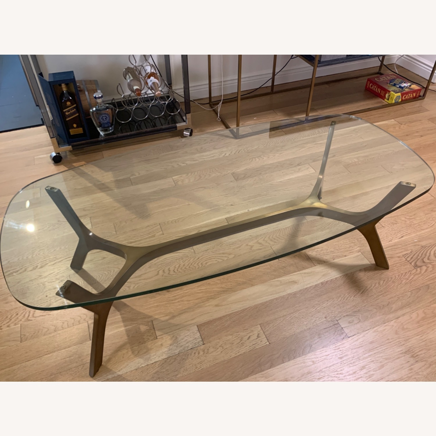 Crate and Barrel Coffee Table - image-2