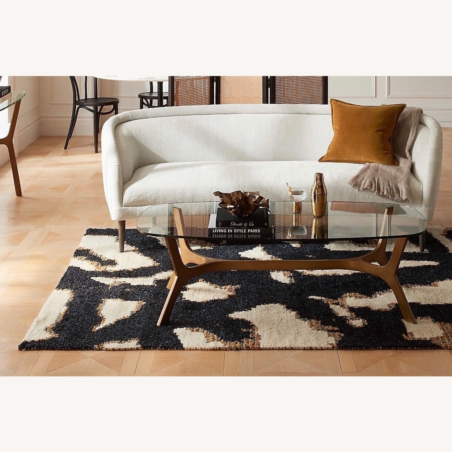 Crate and Barrel Coffee Table - image-4