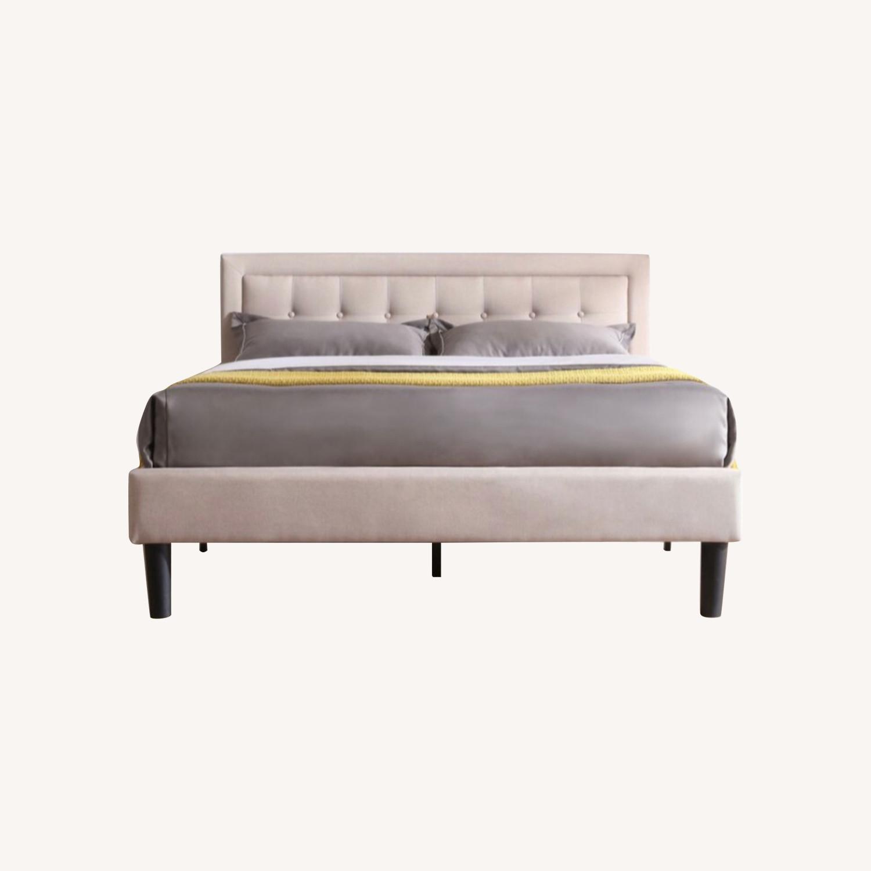 Wayfair Full Size Platform Bed Frame - image-0