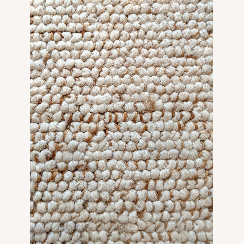 West Elm 8x10 Wool & Jute Rug - image-3