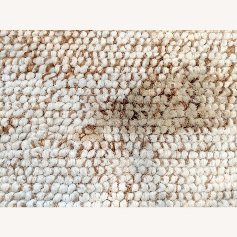 West Elm 8x10 Wool & Jute Rug - image-2