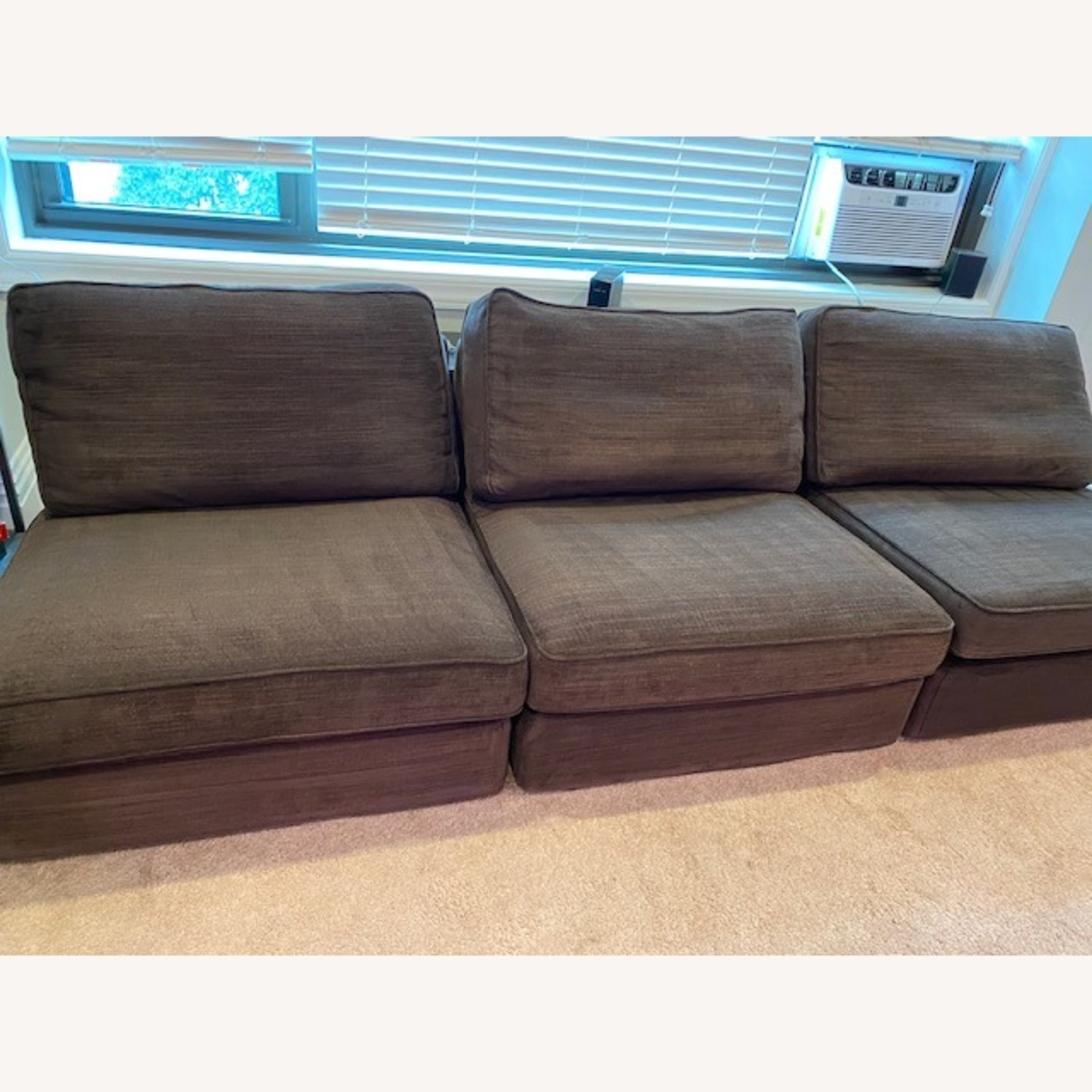 IKEA Espresso Brown Sectional - image-1