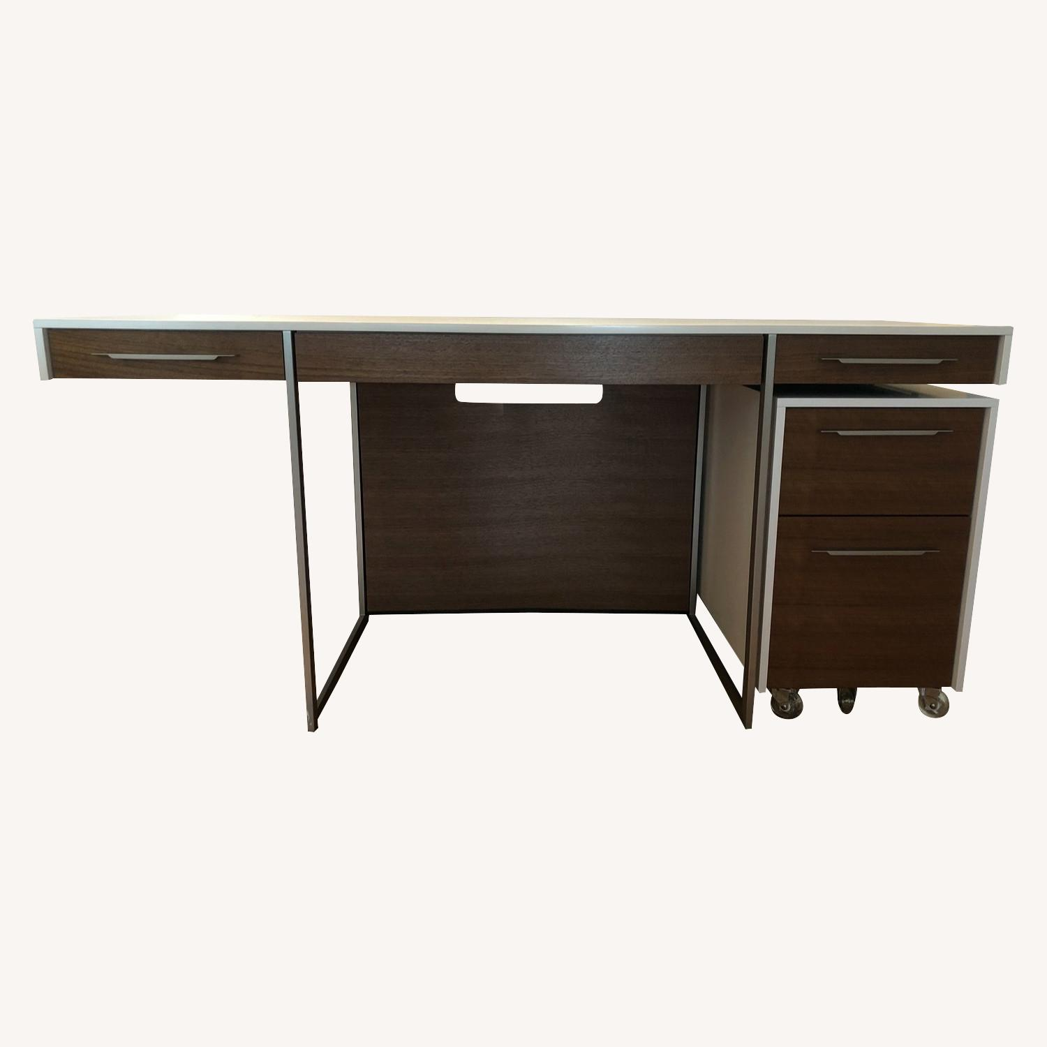 BDI Format Desk and Mobile File Pedestal - image-0