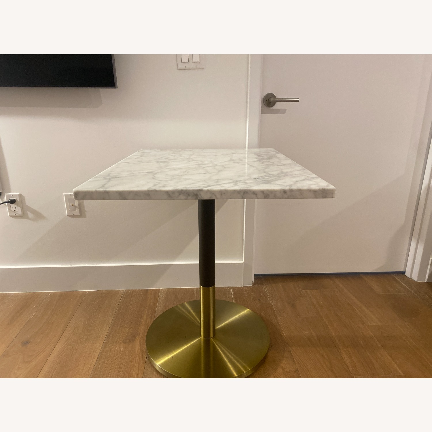 CB2 Marble Dining Table - image-1
