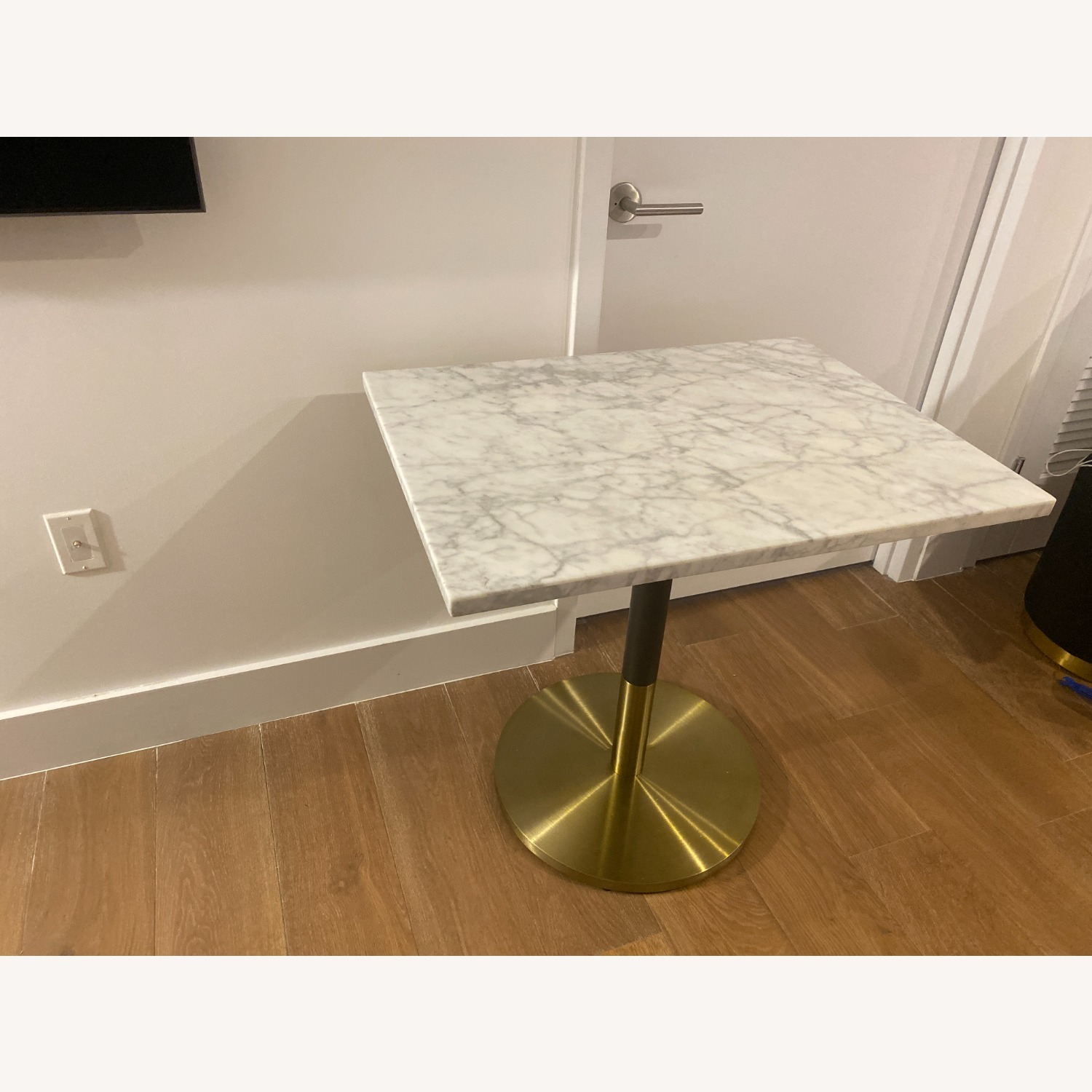 CB2 Marble Dining Table - image-2