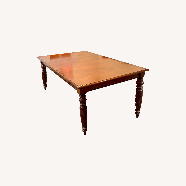 Ethan Allen Livingston Table Cinnabar - image-0
