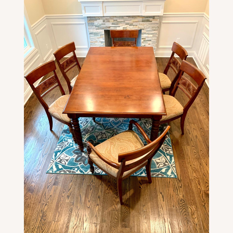 Ethan Allen Livingston Table Cinnabar - image-2