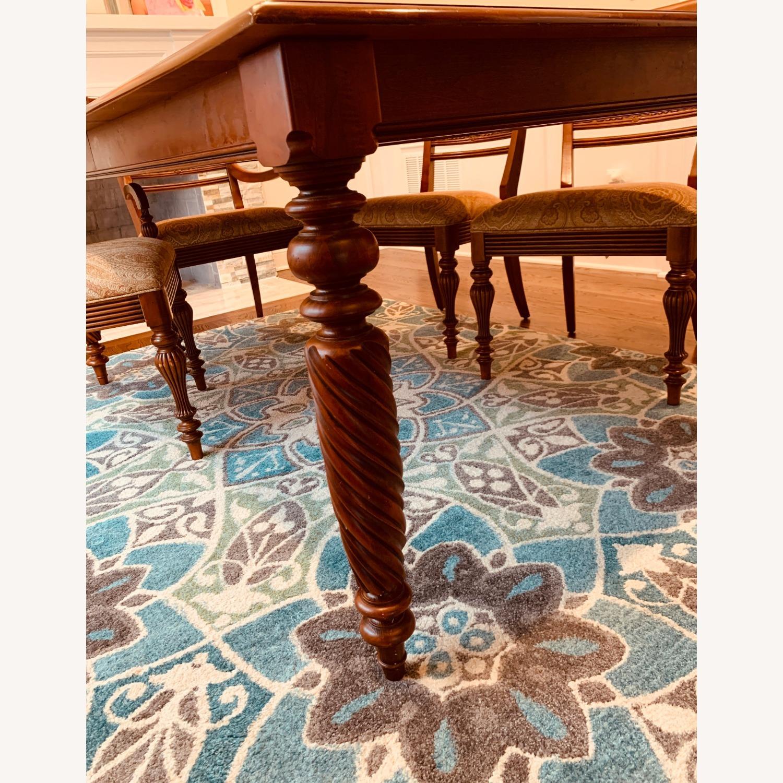 Ethan Allen Livingston Table Cinnabar - image-3