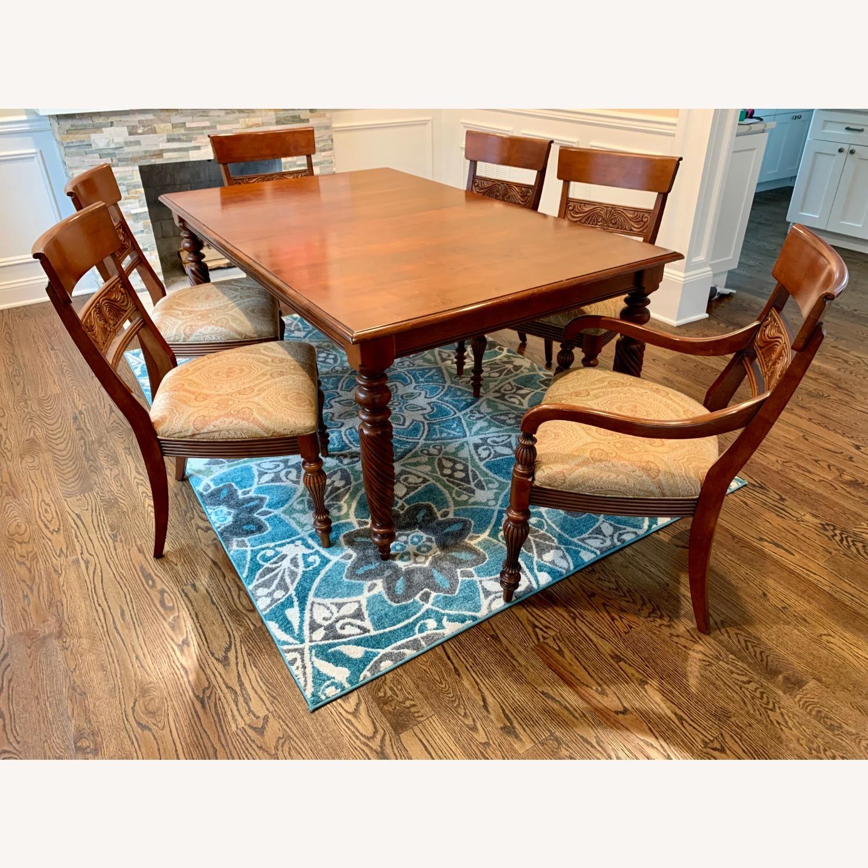 Ethan Allen Livingston Table Cinnabar - image-1
