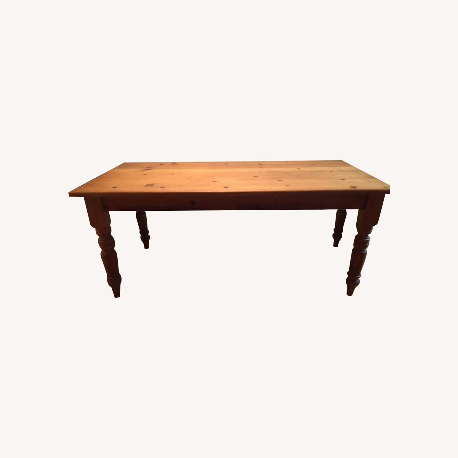 Solid Wood Farm Table - image-0